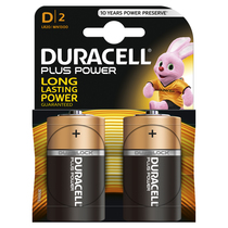 DURACELL Plus D 2er