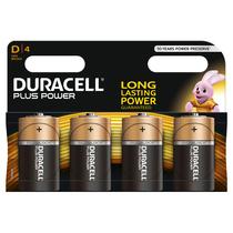 DURACELL Plus D 4er