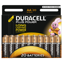 DURACELL Plus Power AA 20er