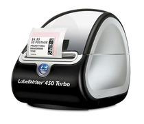 DYMO® Etikettendrucker LabelWriter 450 Turbo Tischetikettendrucker mit verbesserter So