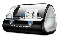DYMO® Etikettendrucker LabelWriter 450 Twin Turbo Tischetikettendrucker für 2 gleichze