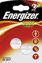 Energizer® Spezialbatterien / Knopfzellen/ 638708, Ø 20 x H 2,5 mm CR2025 Inh. 2