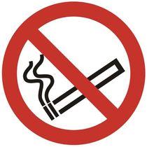 SUPERIOR Verbotsschild Rauchen/GP05SRP-200X200 Ø 20cm rt/wß/sw