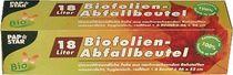 PAPSTAR Bio-Müllbeutel/ 14178, 18 l, transparent, 18 l, 25 my , Inh. 6
