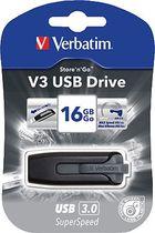 Verbatim USB-Stick STORE N GO V3 3.0/49172 16GB schwarz