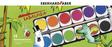 EBERHARD FABER Deckfarbe, -farbkasten Deckfarbkasten 12er Kunststoffbox