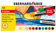 EBERHARD FABER EFA Pastell Ölkreide 12er Kartonetui