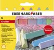 EBERHARD FABER Straßenmalkreide 6er