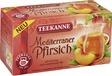 TEEKANNE Mediterraner Pfirsich/52538 20 Früchtetee 20x 2,5 g