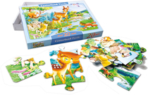 "Maxi-Puzzle ""Bambi"", 20 Teile"