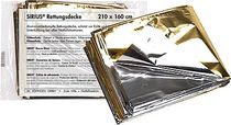 SÖHNGEN® Rettungsdecke SIRIUS/0701001, silber/gold; 210 x 160 cm