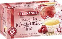 TEEKANNE Kirschblüten-Fest-Weißer Tee/7135 20 Weißer Tee