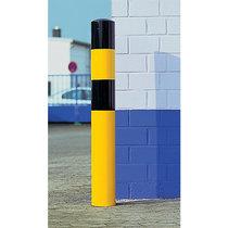Rammschutz-Poller - Größe XL, schwarz / gelb - zum Einbetonieren