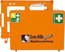 SÖHNGEN® Erste-Hilfe-Koffer/0360108, ora, Metallverarbeitung; B400xH300xT150mm