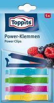 Toppits® Power-Klemmen/4008871200396 L 7 cm 5 Power-Klemmen