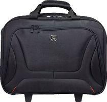 """PORT® Notebooktasche COUCHEVEL TROLLEY/160518 15,6"""" B 45 x H 40 x T 22cm schwarz"""