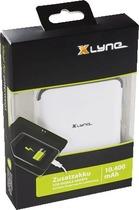 Xlyne Powerbank X101/92010 10400 mAh weiß/schwarz