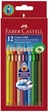 Faber-Castell 12er Etui Farbstift Colour GRIP