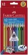 Faber-Castell 12er Etui Farbstifte JUMBO GRIP