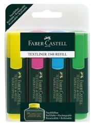 Faber-Castell 4er Etui Textliner 48 REFILL
