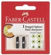 Faber-Castell Blisterkarte Metalldoppelspitzer 50-34