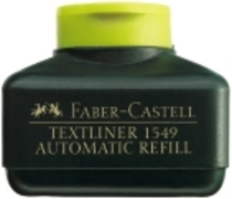 Faber-Castell Nachfülltinte 1549 AUTOMATIC REFILL gelb