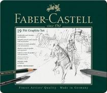 Faber-Castell PITT Graphite medium Set im Metalletui