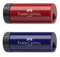 Faber-Castell Spitzdose rot / blau