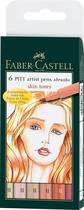 Faber-Castell Tuschezeichner PITT artist pen Skin