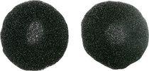 WMC Ohrpolster für Kopfhörer Deluxe/24211 schwarz grau VE2