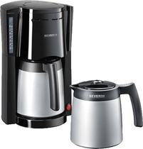 SEVERIN Kaffeeautomat KA 9482/KA9482 schwarz/silber