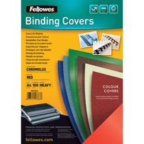 Fellowes® Deckblatt Chromolux