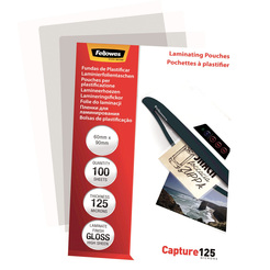 Fellowes® Laminierfolie Capture 125 Mikron