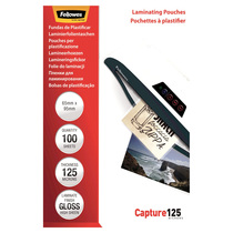 Fellowes® Laminierfolie Capture 125 Mikrons