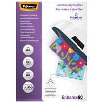 Fellowes® Laminierfolie Enhance 80 Mikrons