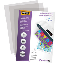 Fellowes® Laminierfolie Enhance 80 Mikrons