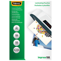 Fellowes® Laminierfolien Impress 100 Mikron