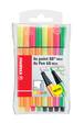 "Fineliner / Premium-Filzstift STABILO® point 88® Mini / Pen 68 Etui ""Neon"""