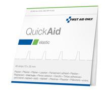 First Aid Only QuickAid Nachfüllpack mit Textilgewebepflaster (Elastic)