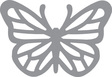 Fiskars F-2394 Stanzer aufwendige Formen Schmetterling XL
