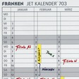 Franken Datumsstreifen