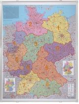 Franken Kartentafel Deutschland