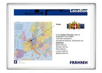 Franken Magnetische Projektions- / Schreibtafel PRO Plus