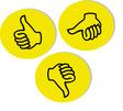 Franken Moderationskarte Wertungssymbol