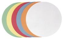 Franken selbstklebende Moderationskarte Kreis gr