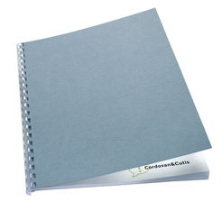GBC® Einbanddeckel LeatherGrain