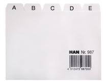 HAN Register A - Z, DIN A7 quer