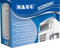 HAUG Thermopapier ECONOMY für Tachographen 3 Rollen