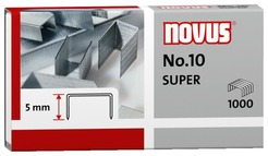 Heftklammer für Büroheftgerät NOVUS No. 10 super a` 1.000