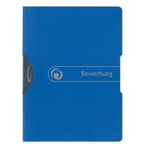 Herlitz Bewerbungsmappe A4 Express-Clip blau easy orga to go